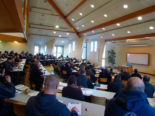 Frères de Saint-Jean à Rimont : Retraite de Communauté