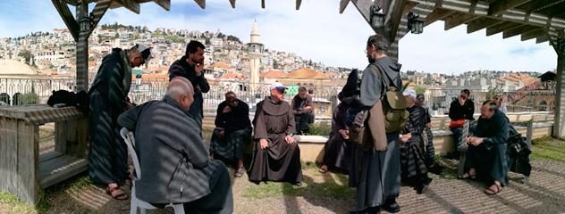 Europe Sud : Pèlerinage en Terre Sainte des Frères de Saint-Jean