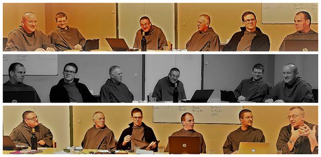 Rencontre de chapitre vicarial Europe Nord à Banneux en Belgique - Frères de Saint-Jean