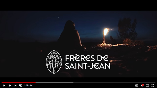Quatre vidéos des Frères de Saint-Jean